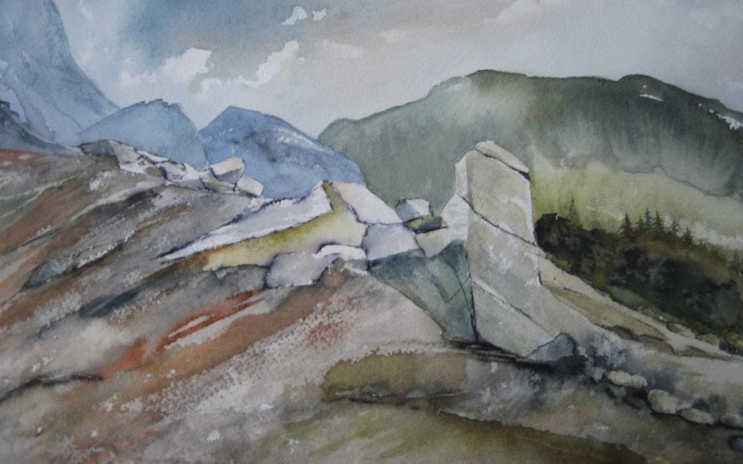 Vernissage – Mme Arlette Russillon, Artiste-peintre
