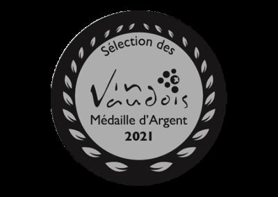 Sélection des Vins Vaudois - Médaille d'Argent - Rosé de Gamay 2020